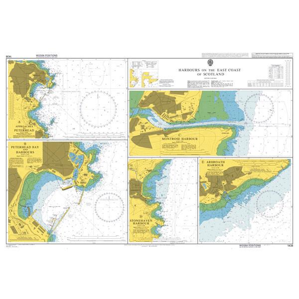 Harbours on the East Coast of Scotland. UKHO1438