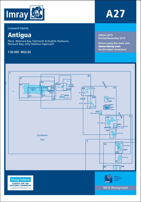 IMRAY CHART A27 Antigua