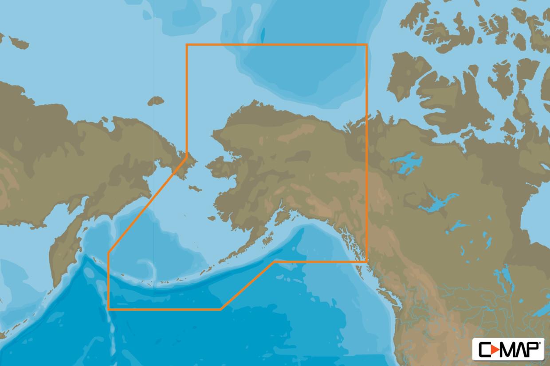 C-MAP MAX Wide NA-M028 Alaska