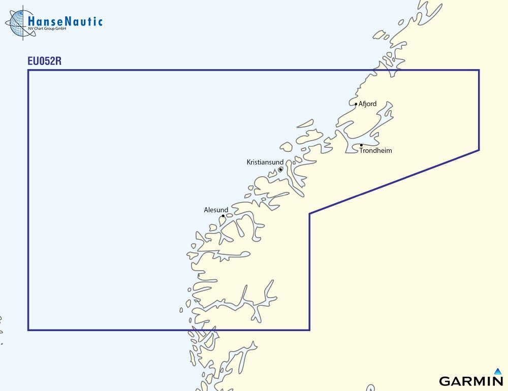 BlueChart g3 Vision Chip Regular VEU052R-Sognefjorden-Svefjorden