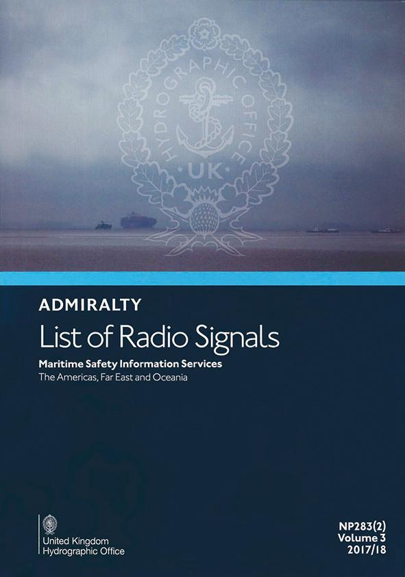 ADMIRALTY NP283(2) List of Radio Signals Volume 3, Part 2