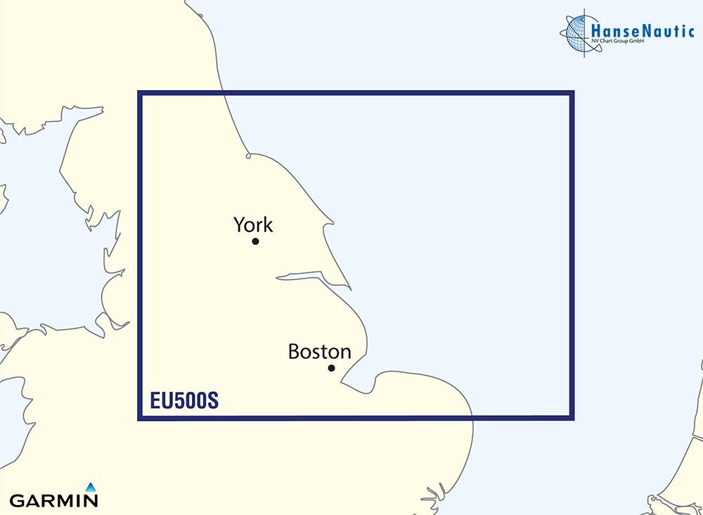 BlueChart Nordsee, Ostküste England: Blyth-Lowestoft g3 Vision VEU500S