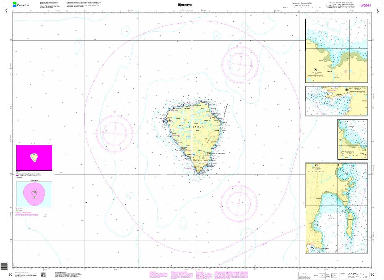 Norwegen N 501 Bjørnøya - Bäreninsel