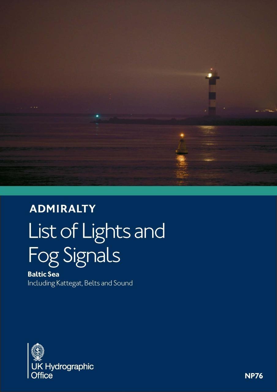 ADMIRALTY NP76 Lights List C - Baltic Sea