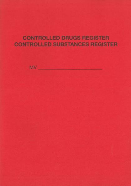 Narcotic Log Book/Drug register