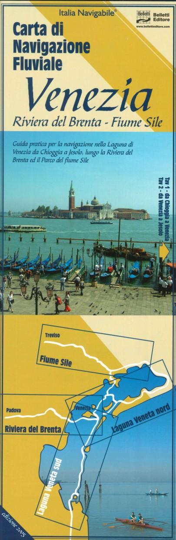 LAG 20 Carta di Navigazione Fluviale Venezia