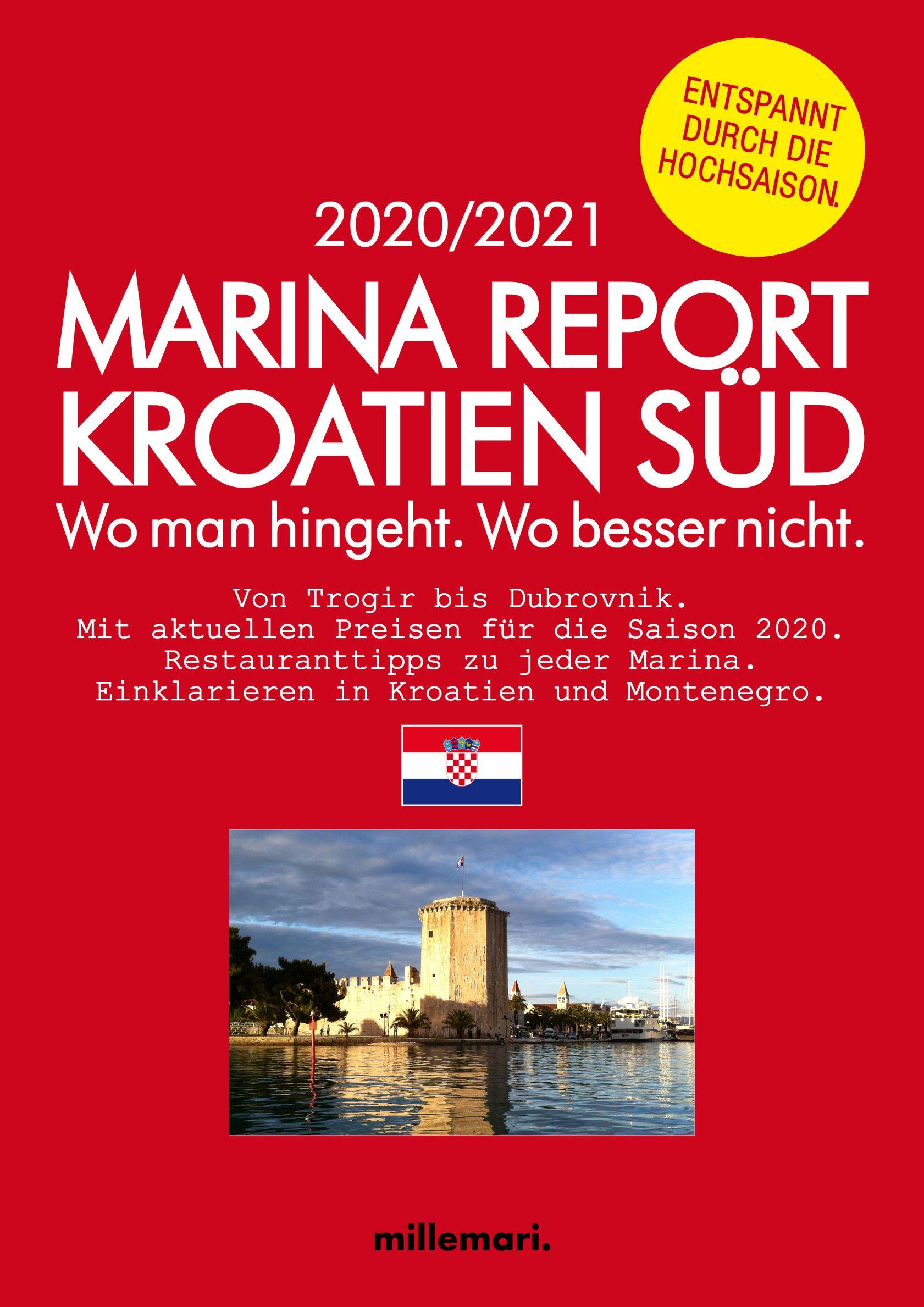 Marina Report Kroatien Süd