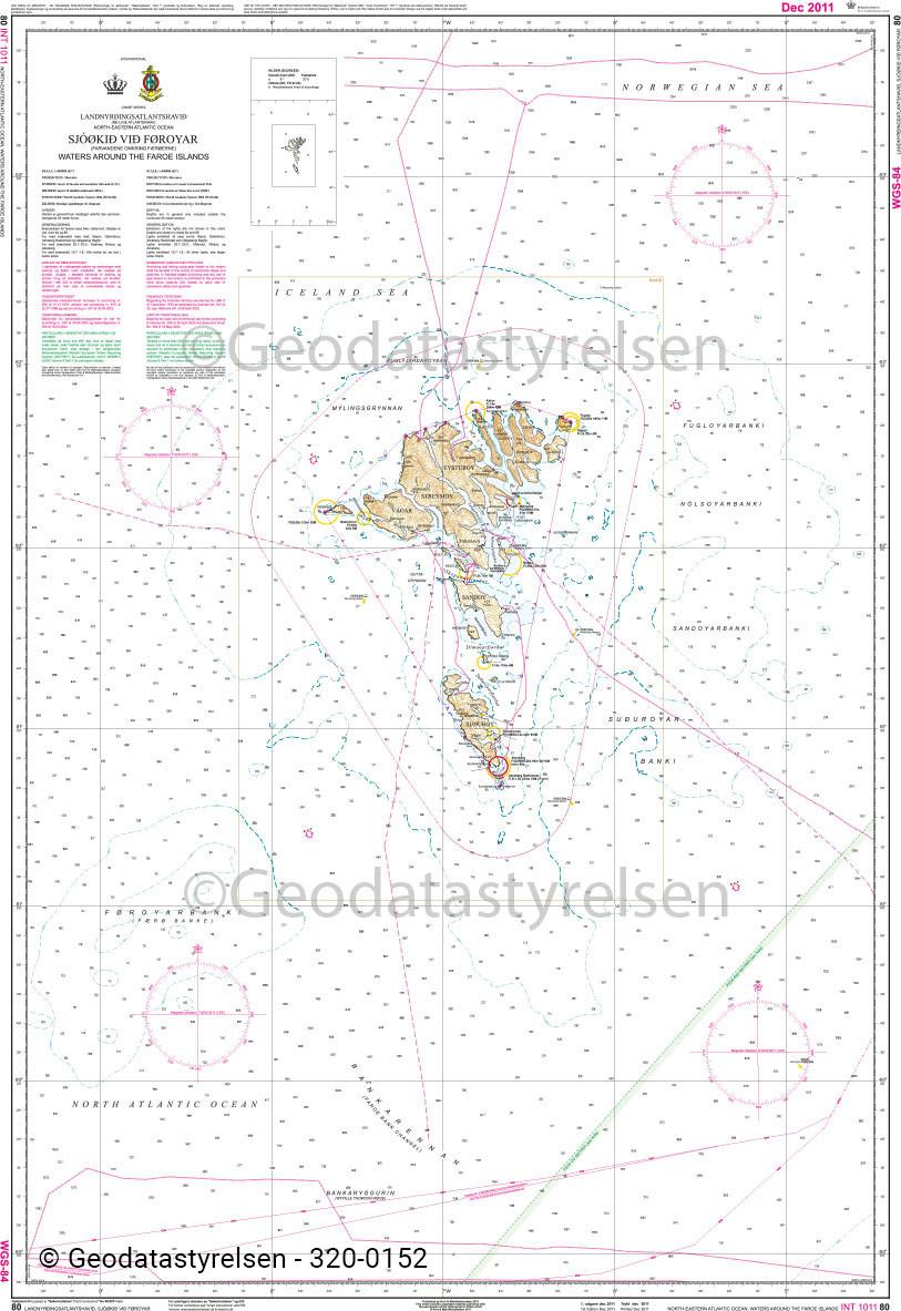 DK 80 Seegebiet um die Färöer Inseln