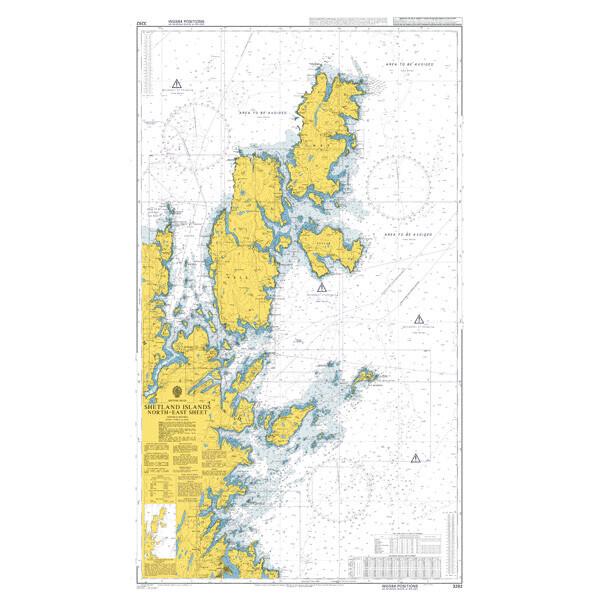 Shetland Islands North-East Sheet. UKHO3282