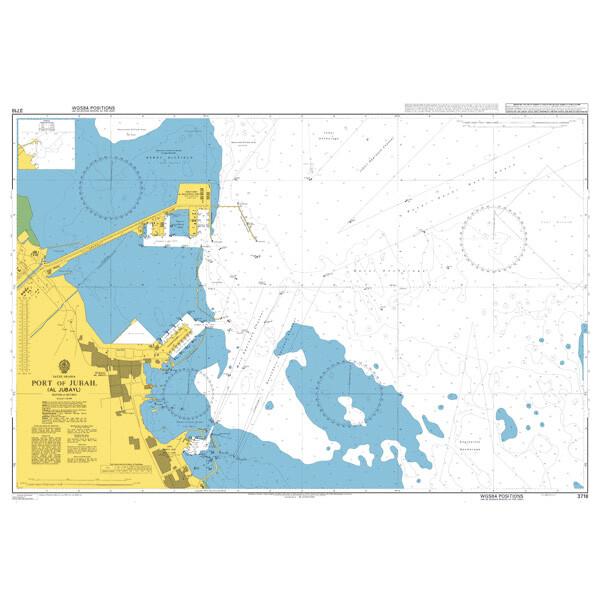 Port of Jubail (Al Jubayl). UKHO3718