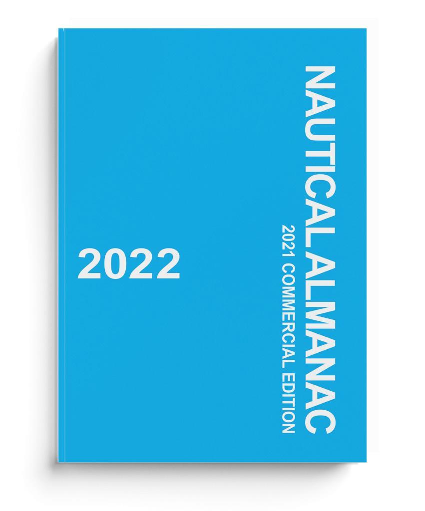 Nautical Almanac Commercial Edition 2022