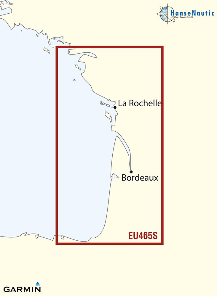 BlueChart Atlantik, West-Frankreich (La Baule-San Sebastian) g3 Vision VEU465S