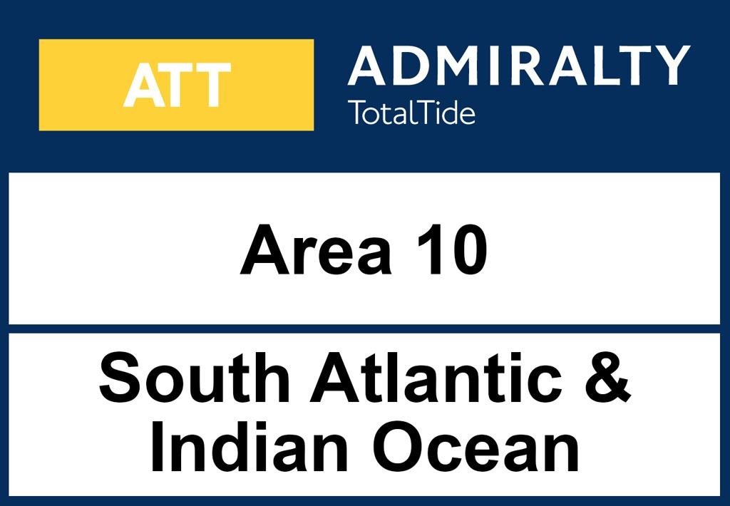 ADMIRALTY TotalTide Area 10 South Atlantic and Indian Ocean (South)