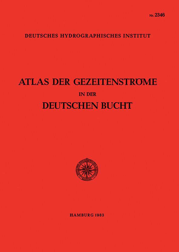 Atlas der Gezeitenströme in der Deutschen Bucht (BSH)