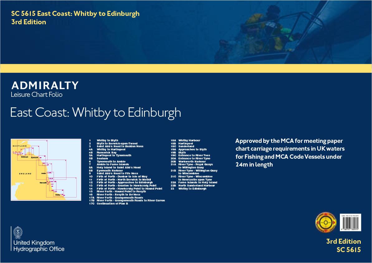 SC5615 East Coast of England & Scotland - Whitby to Edinburgh