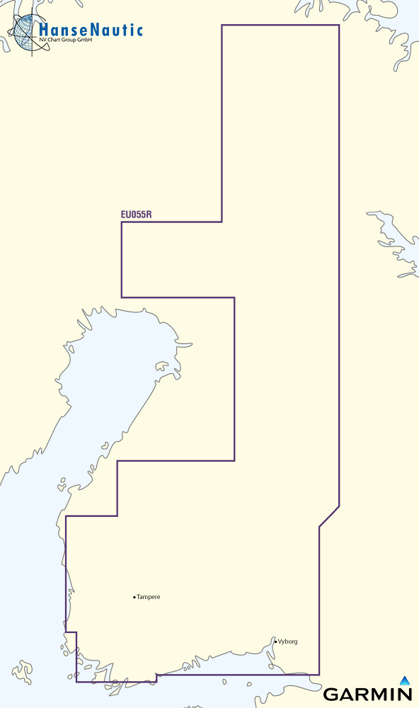 BlueChart Finnland Binnengewässer (Finnish Lakes) g3 XEU055R