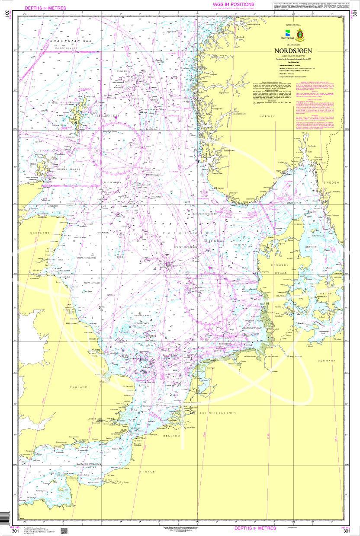 Norwegen N 301 Nordsjøen