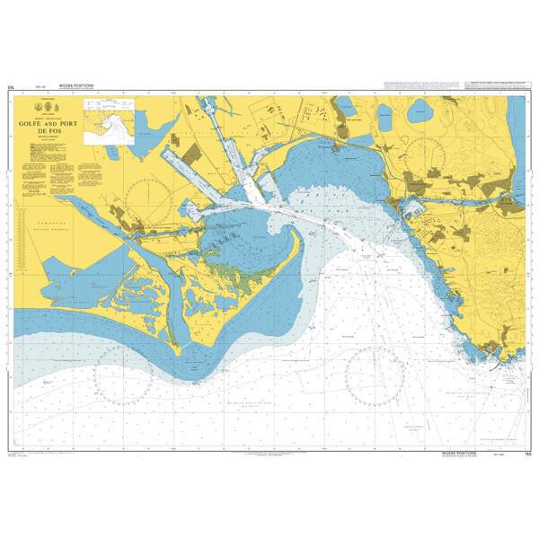 Golfe and Port de Fos. UKHO155