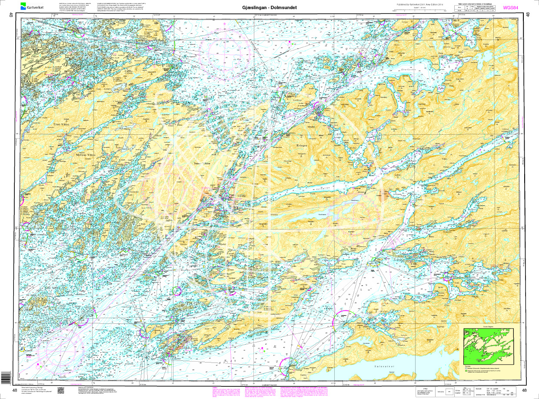 Norwegen N 48 Atlantik von Gjæslingan bis Dolmsundet