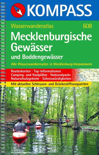 Wasserwanderatlas Mecklenburgische- und Boddengewässer