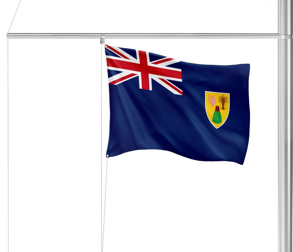 Flagge Turks & Caicos