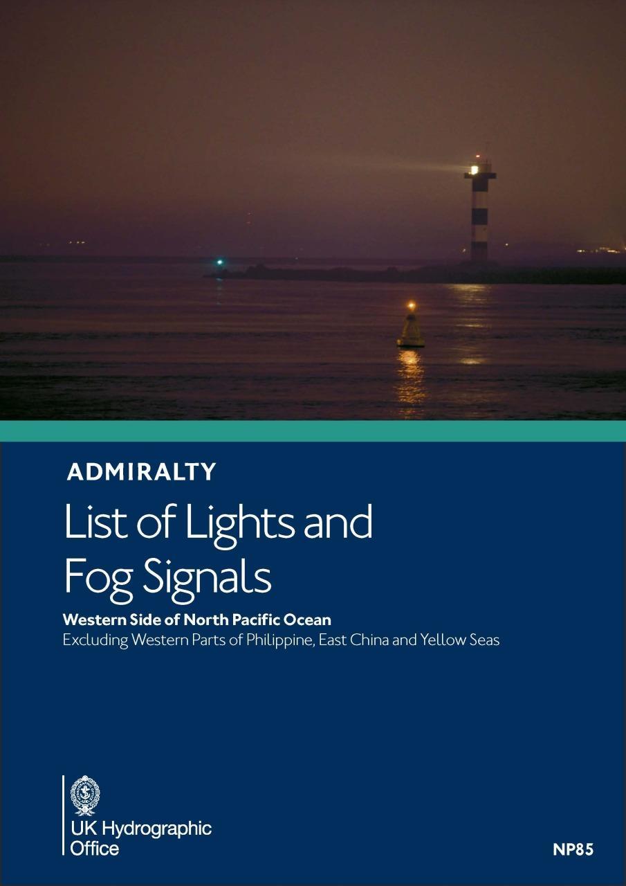 ADMIRALTY NP85 Lights List M - Northwest Pacific