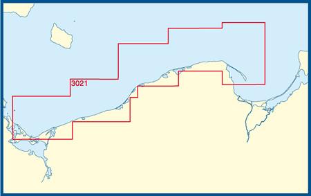 D 3021 Od Zatoki Pomorskiej do Mierzei Helskiej/Pommersche Bucht bis Halbinsel Hela
