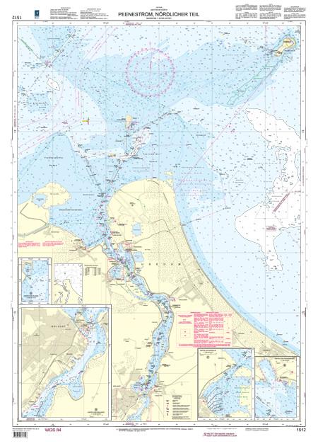 BSH 1512 Peenestrom, nördlicher Teil