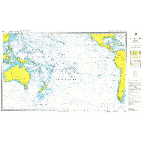 A Planning Chart for the South Pacific Ocean. UKHO4007