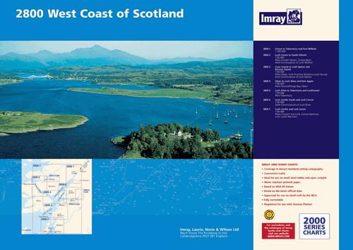 IMRAY 2800 Isle of Mull and Adjacent Coasts Chart Pack