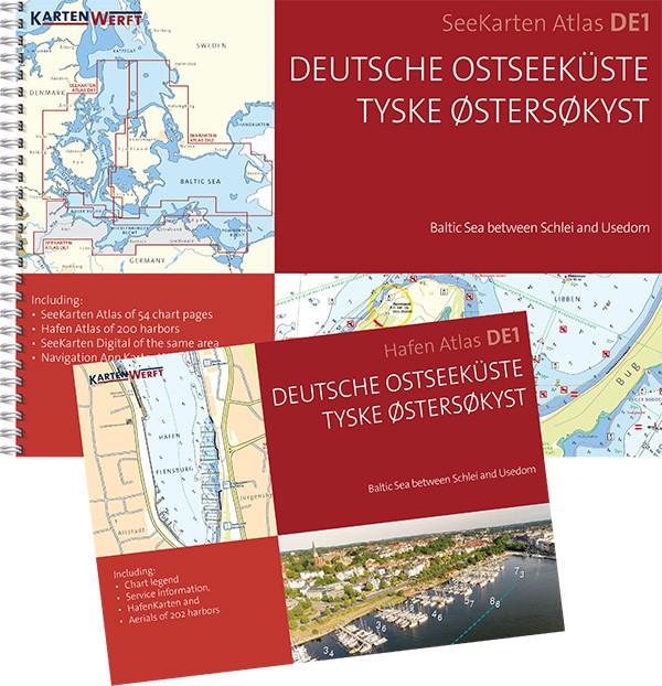 SeeKarten Atlas DE1 | Deutsche Ostseeküste