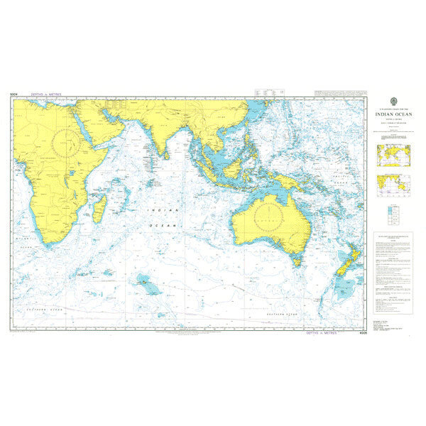 A Planning Chart for the Indian Ocean. UKHO4005