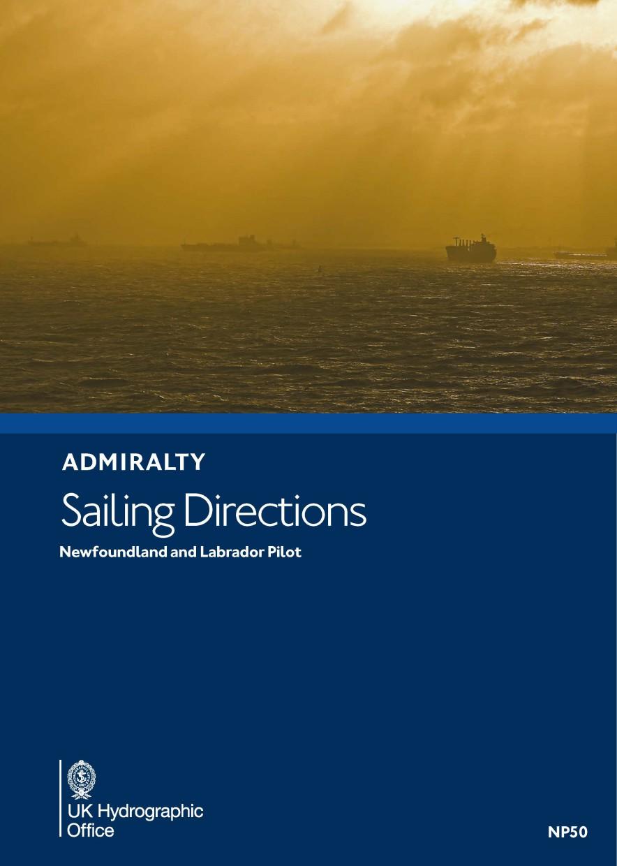 ADMIRALTY NP50 Newfoundland and Labrador Pilot - Seehandbuch