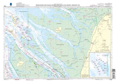 BSH 1240 Mündungen der Neuen Weser und der Alten Weser, innerer Teil