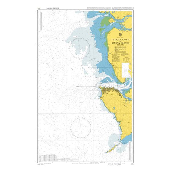 Yelibuya Sound to Banana Islands. UKHO686