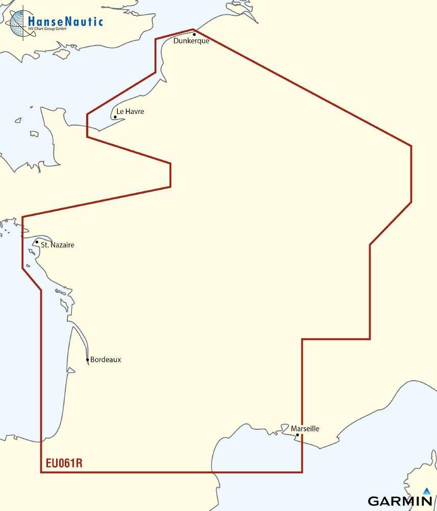 BlueChart Frankreich Binnengewässer g3 XEU061R