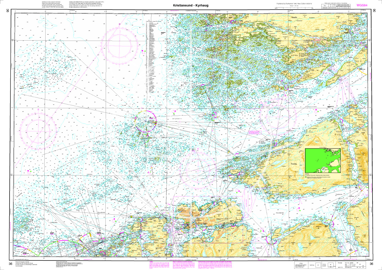 Norwegen N 36 Atlantik von Kistiansund bis Tyrhaug