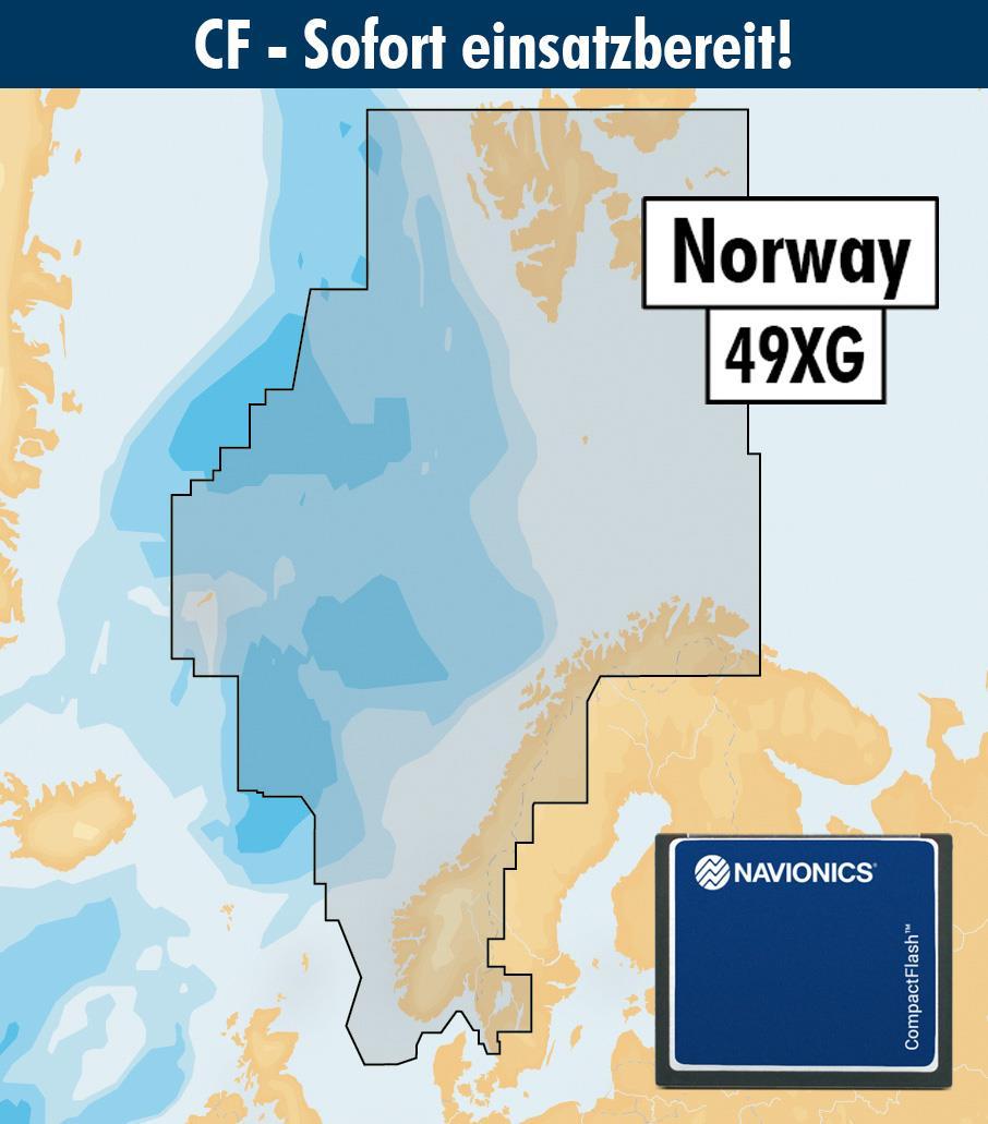 Navionics+ CF 49XG Norwegen (Norge, Norway)