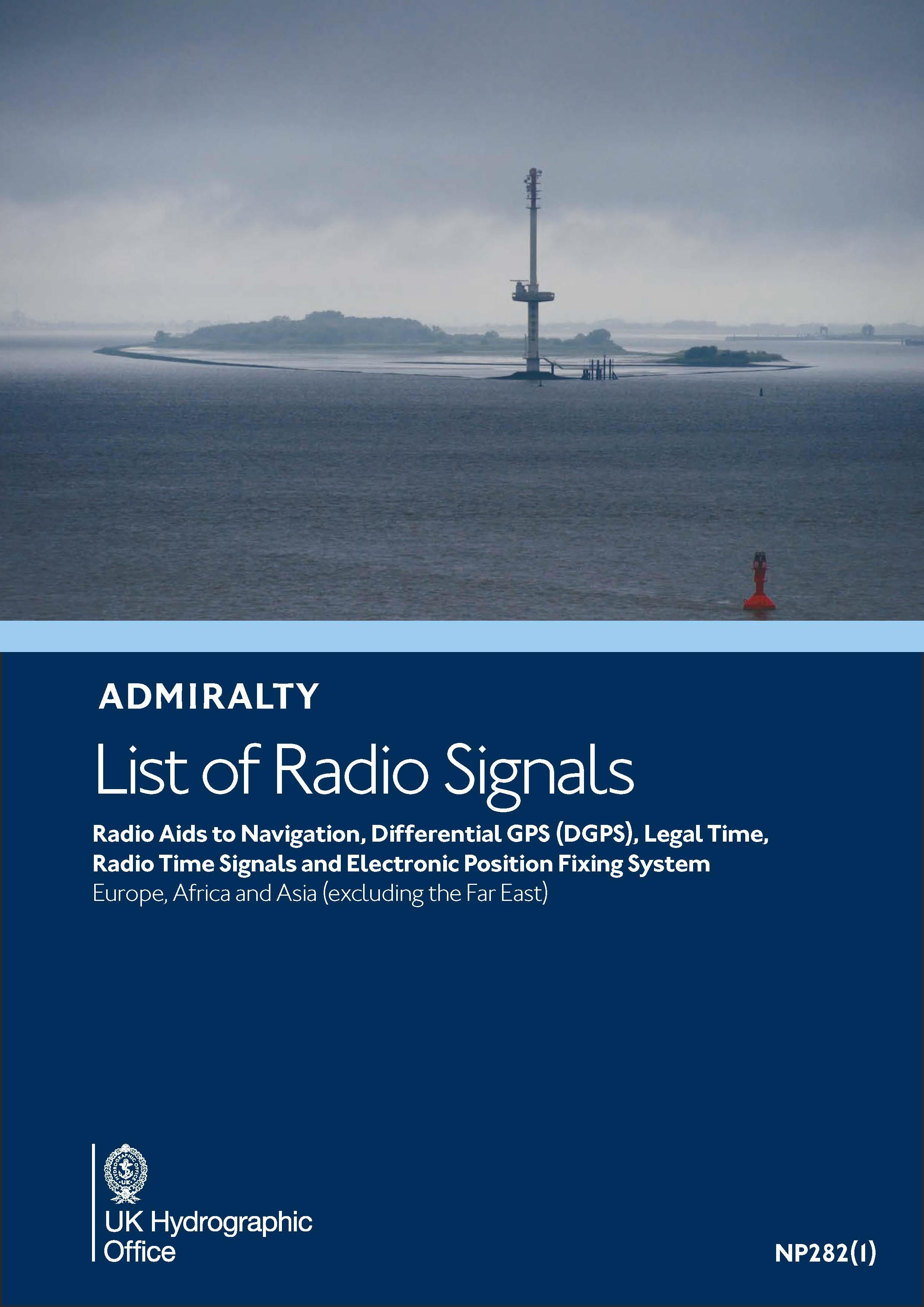 ADMIRALTY NP282(1) RadioSignals Position Fixing Systems & Time Signals - EMEA