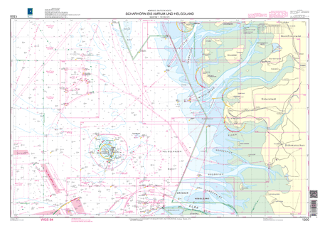 BSH 1300 Scharhörn bis Amrum und Helgoland
