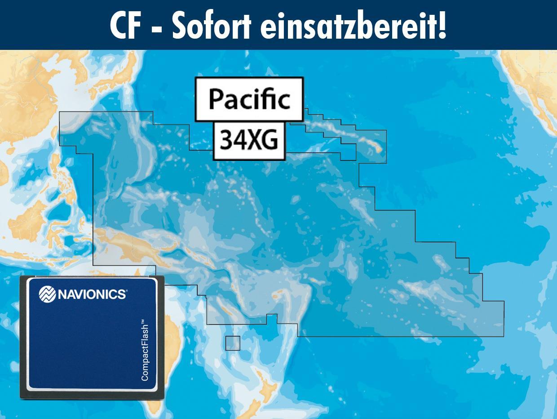 Navionics+ CF 34XG Pazifische Inseln, Südsee (Pacific Islands)