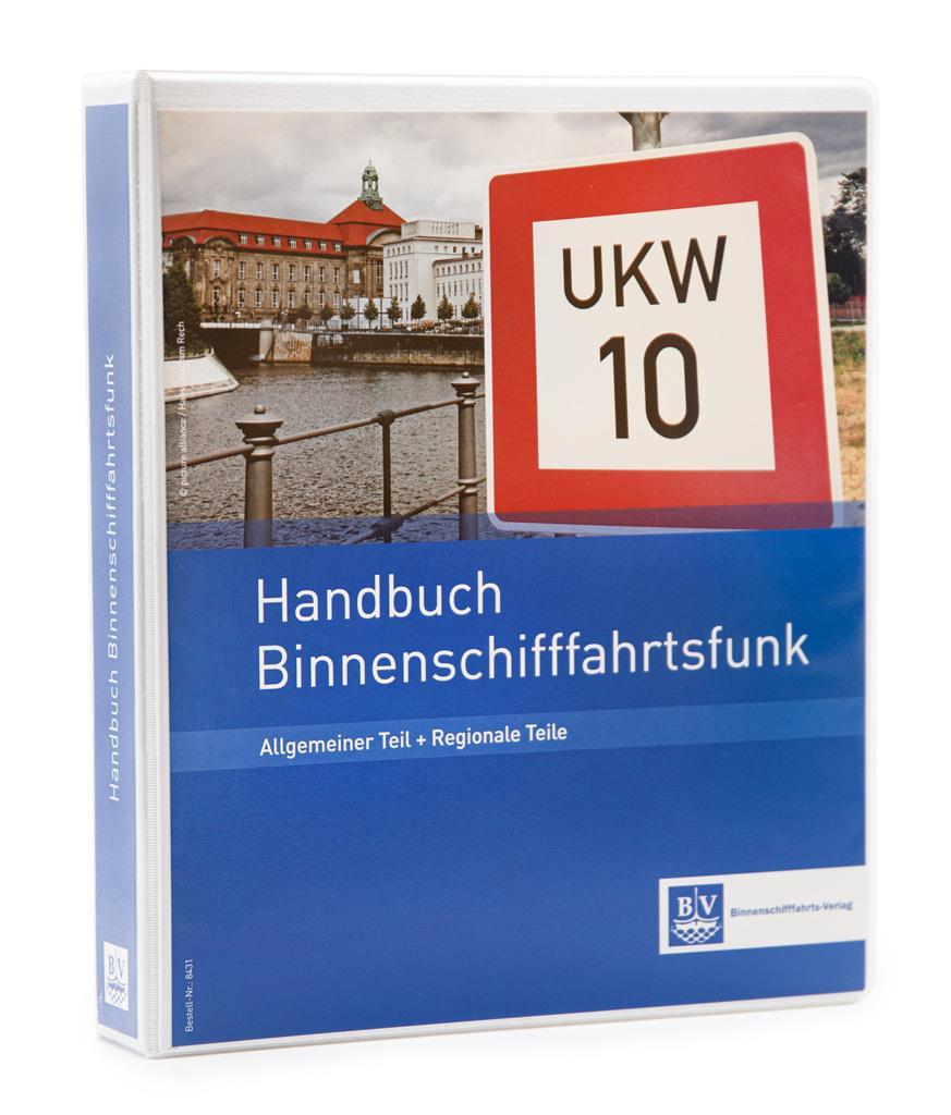 Handbuch Binnenschifffahrtsfunk/ Komplettwerk inkl. Ordner
