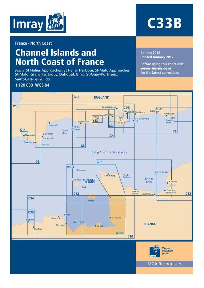 IMRAY CHART C33B Channel Islands (South)