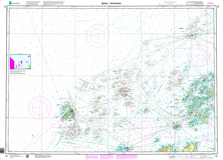 Norwegen N 63 Atlantik von Myken bis Ternholman