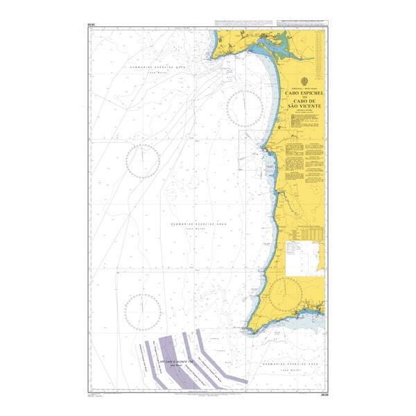 Cabo Espichel to Cabo de Sao Vicente. UKHO3636