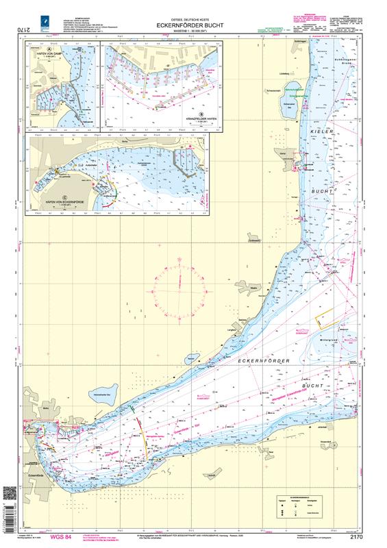 BSH 2170 Eckernförder Bucht
