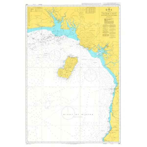 Calabar to Bata including Isla de Bioko. UKHO1387