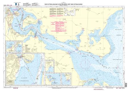 BSH 1579 Der Strelasund von Palmer Ort bis Stralsund