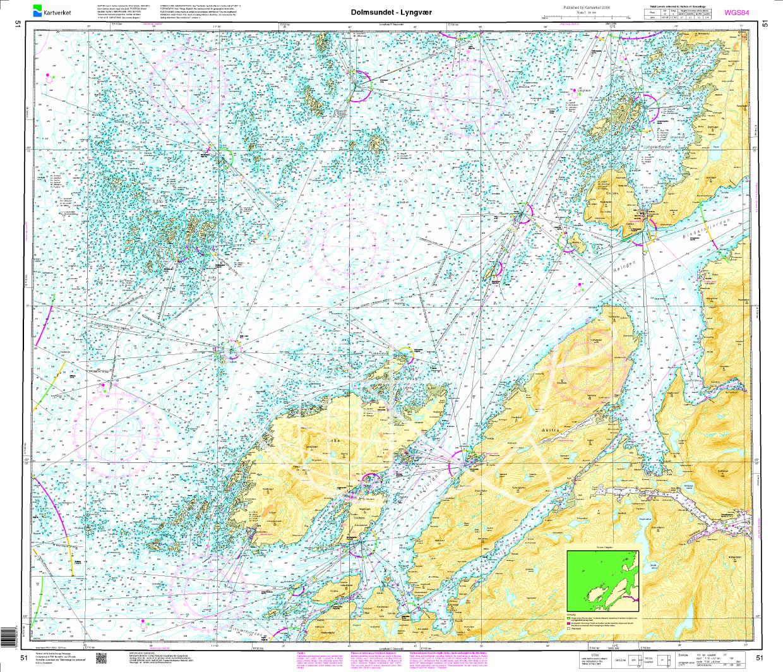Norwegen N 51 Atlantik von Dolmsundet bis Lyngvær