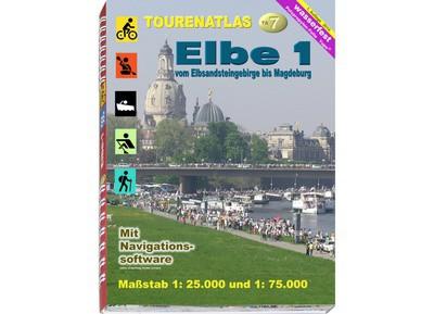 TourenAtlas TA7: Elbe 1